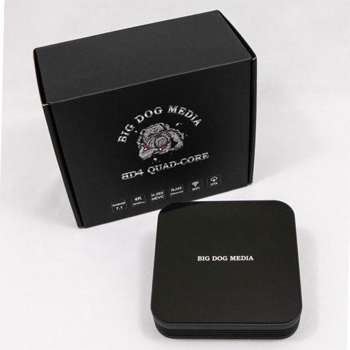 Big Dog Media BD4 Quad Core Android Box